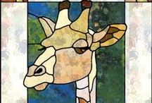 Stained Glass Animals / Animal Themed Stained Glass Items - Birds, Butterflies, Cats, Wild Animals etc...