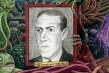 So Weird / Howard Phillips Lovecraft (August 20, 1890 – March 15, 1937) — known as H. P. Lovecraft — was an American author of horror, fantasy, science fiction, and, especially the subgenre known as weird fiction. / by Darren Denton