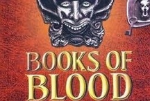 Books of Blood / Clive Barker (born 5 October 1952) is an English author, film director and visual artist best known for his work in both fantasy and horror fiction. Barker came to prominence in the mid-1980s with a series of short stories which established him as a leading young horror writer. He has since written many novels and other works, and his fiction has been adapted into motion pictures, notably the Hellraiser and Candyman series. / by Darren Denton