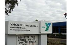 About YMCA of the Suncoast / The YMCA of the Suncoast has 10 locations serving 80,000 men, women, and children in Citrus, Hernando, Pasco, and Pinellas counties on the west coast of Florida. Visit your local branch today to learn about the benefits of membership!