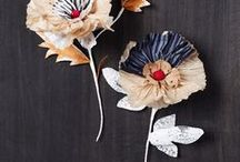 Flowers / floral inspiration for fashion and textile art