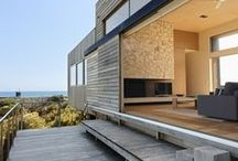 Exterior Timber Finishes / Sustainable hardwoods used as structural and decorative elements in exterior applications...