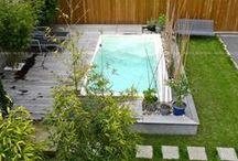Mini-water évolution Aquilus / Une mini piscine avec nage à contre courant et bain bouillonnant. Une autre idée du bien-être