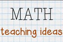 MATH - teaching ideas / Creative ideas to teach math