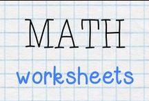 "MATH - worksheets / ""Good"" math worksheets and printable activities"