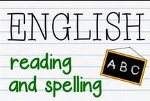 ENGLISH - reading and spelling