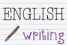 ENGLISH - writing help and inspiration