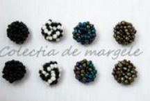 Crochet beading collection 2014 - Colectia de margele / www.colectiademargele.ro Colectia de margele on facebook