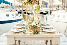 Nautical Wedding / Ideas and inspiration for a Nautical Themed Wedding