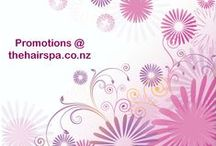Promotions at the HairSpa / Our offer to all