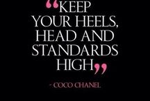 CHANEL (Quotes by Coco)
