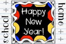 Seasonal - new year / Seasonal resources for classroom use and homeschooling.