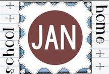 Seasonal - January / Seasonal resources for classroom use and homeschooling.