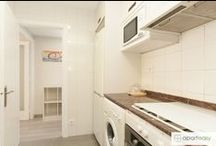 Kitchenettes / Pictures of Kitchenettes in nice and cozy apartments, all of them available for Vacational Rental.