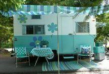 det glade campingliv : ) / campingliv,oppussing av campingvogner.....