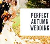 The Perfect Fall Wedding