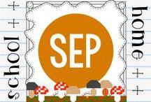 Seasonal - September / Seasonal material for teachers and homeschoolers