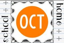 Seasonal - October / Seasonal worksheets, activities and teaching ideas.