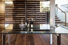 Wine Cellars / Beautifully appointed spaces to appreciate & enjoy wine