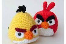 Krafty z Angry Birds / Baloniki, puszki, plastikowe butelki, trochę farbek, papieru i mamy grę z ekranika w rzeczywistości ;D Jeszcze lepeij niż pokemony!