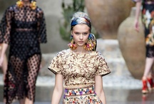 Dolce Gabbana  / spring/summer 2013 / by carolina vasconcelos