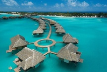 *Dreamy Honeymoon Hotels* / Would love to stay here...