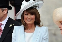 *Mummy Middleton's Classic Style* /  It is obvious where Kate gets her classic and elegant style from...