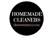 Homemade Cleaners / DIY recipes and tips to make your own healthy homemade cleaners. Clean your home, don't coat it in chemicals!