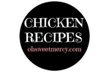 Chicken Recipes / Chicken is very versatile, so you'll find all kinds of recipes here to make whatever you're craving.