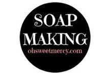 Soapmaking / Soap making is an art. Find recipes and tips here for making your own handcrafted soaps!