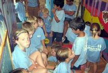 Vidant Wellness Center Tour (Ahoskie, N.C.) / Eighteen children ages 5-12 from Vidant Wellness Center in Ahoskie, N.C. tour the Roanoke Canal Museum. (8-2-2013)