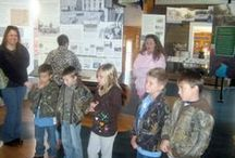 Northeast Academy Tour / Five second-graders from Northeast Academy (Lasker, N.C.) toured the Roanoke Canal Museum.