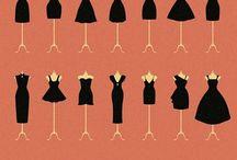 *Little Black Dresses* / One can never feel over-dressed or under-dressed in a little black dress
