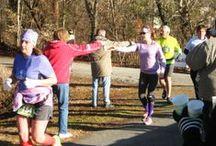5th Annual Roanoke Canal Half-Marathon/8K (3-8-2014) / An estimated 300 people participated in the 5th Annual Roanoke Canal Half-Marathon/8K on the Roanoke Canal Trail in Roanoke Rapids, North Carolina.