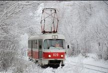 Tram, train, other