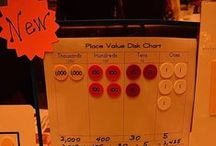 Place Value Disk Stuff / Activities featuring place value disks.