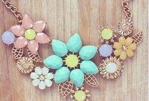 *Statement Necklaces* / A statement necklace can transform a dress...
