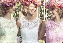*Beautiful Bridesmaids* / Inspiration for gorgeous bridesmaids dresses...
