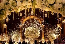 *Hollywood Glamour Weddings* / Inspiration for a vintage hollywood glamour wedding...