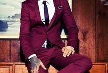 Man's business / Suits for men.