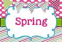 Spring Collaborative Board / Spring teaching ideas