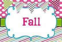 Fall Collaborative Board / Fall teaching ideas