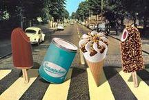 Italian vintage Gelato (ice cream) poster and adv!