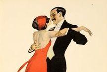 Traditional Italian dances, ballroom and customes of the 20th century / Danze, abiti da ballo, balere nell'Italia del Novecento. Italy and his dances.