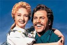Seven Brides for Seven Brothers / This is my all time favorite movie musical. I would sit up into the wee hours of the morning to watch it again and again.