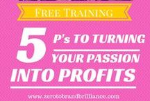 Passion to Profits Tip and Tricks