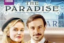 The Paradise / BBC Period Drama ~ An intoxicating love story set in England's first department store in the 1870s. The Paradise is a British television costume drama series co-produced by BBC Worldwide America and Masterpiece. The Paradise premiered in the United Kingdom on BBC One on 25 September 2012 and premiered in the United States on PBS on 6 October 2013. The series is an adaptation of Émile Zola's novel Au Bonheur des Dames that relocates the story to North East England.