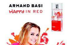 Lo nuevo de Armand Basi... Happy In Red! / HAPPY IN RED, una explosión de alegría la fragancia más emocional de la gama In Red. Una fragancia que contagia entusiasmo. Inquieta y chispeante. Dinámica y moderna. Vivaz. Entusiasta y feliz. Vital, enérgica, festiva. Divertida y femenina.
