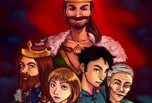 Tales of Midgard illustrations / Illustrations about Tales of Midgard