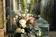 my compositions! / composizioni floreali fatte da me